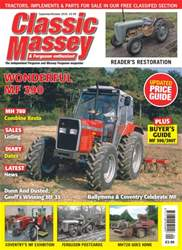 Classic Massey issue No. 64 Wonderful MF 390