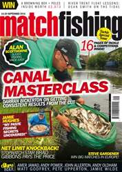Match Fishing issue September 2016