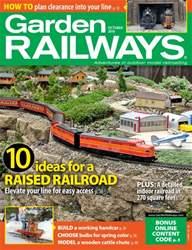 Garden Railways issue October 2016