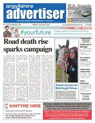 Argyllshire Advertiser issue 19th August 2016