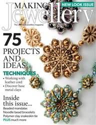Making Jewellery issue September 2016