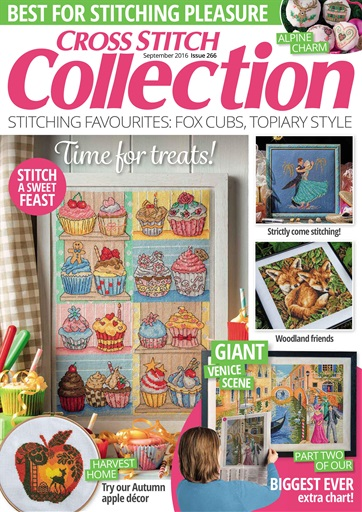 Cross Stitch Collection issue September 2016