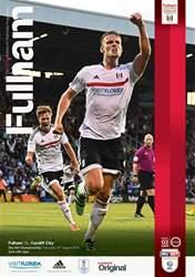 Fulham FC issue Fulham V Cardiff City 16-17