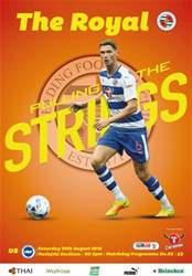 Reading FC Official Programmes issue 3 v Brighton & Hove Albion (16-17)