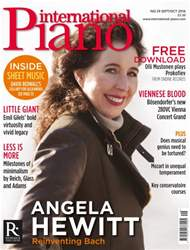 International Piano issue Sept - Oct 2016