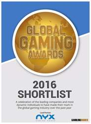 Gambling Insider issue GGA Shortlist 2016