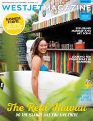 WestJet Magazine issue September 2016