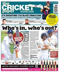 The Cricket Paper issue 19th August 2016