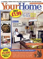 Your Home Magazine issue October 2016