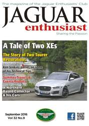 Jaguar Enthusiast issue Vol. 32 No. 7 A Tale of Two XEs