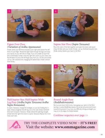 OM Yoga UK Magazine Preview 33