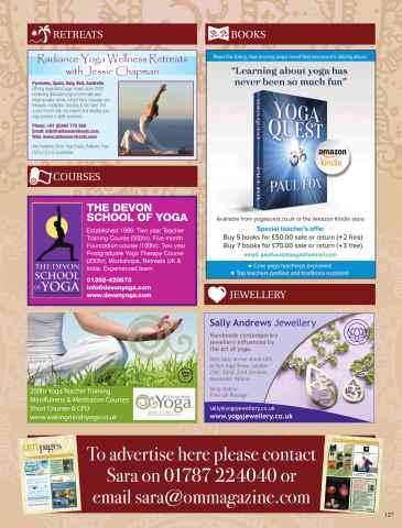 OM Yoga UK Magazine Preview 127