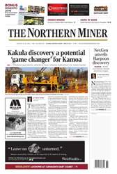 The Northern Miner issue Vol. 102 No. 28
