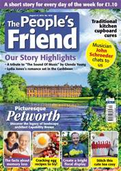 The People's Friend issue 27/08/2016