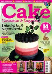 Cake Decoration & Sugarcraft Magazine issue October 2016