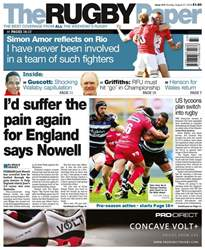The Rugby Paper issue 21st August 2016
