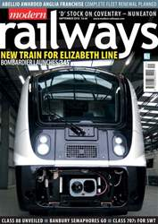 Modern Railways issue September 2016