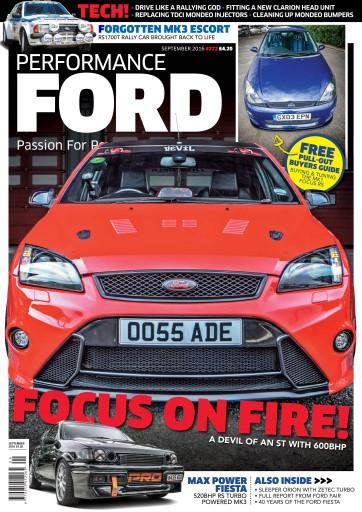 Performance Ford issue September 2016