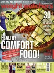 Weight Watchers magazine UK issue October 2016