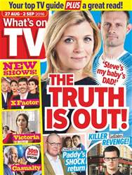 What's on TV issue 27th August 2016