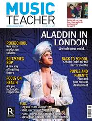 Music Teacher issue September 2016