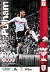 Fulham FC issue Fulham v Middlesbrough 16-17