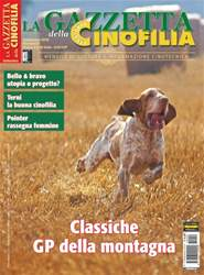La Gazzetta Della Cinofilia Venatoria issue Settembre 2016