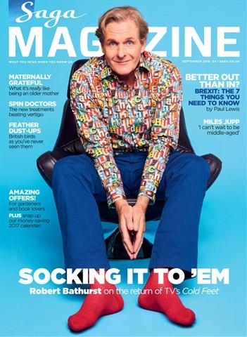 Saga Magazine issue September 2016 - Saga Magazine