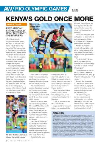 Athletics Weekly Preview 14