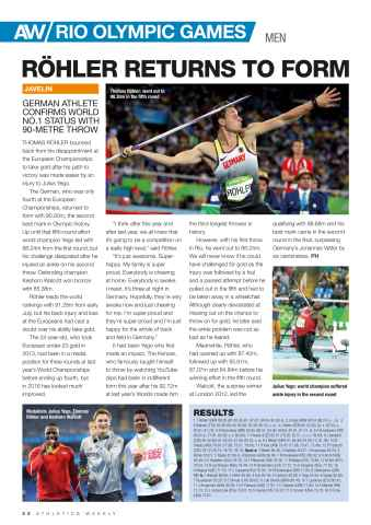 Athletics Weekly Preview 22
