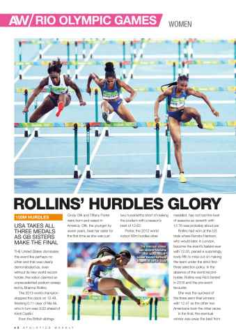 Athletics Weekly Preview 42