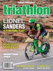 Triathlon Magazine Canada issue Volume 11 issue 5