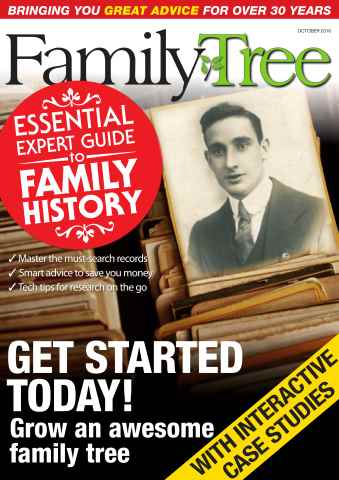 Family Tree issue Family Tree October 2016