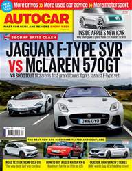 Autocar issue 24th August 2016