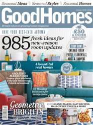 GoodHomes Magazine issue October 2016