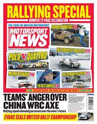 Motorsport News issue 24th August 2016