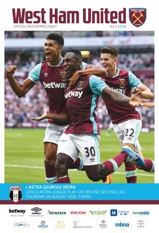 West Ham Utd Official Programmes Preview 1