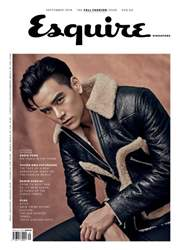 Esquire Singapore issue September 2016