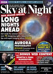 BBC Sky at Night Magazine issue September 2016