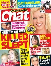 Chat issue 1st September 2016