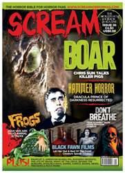 Scream Magazine issue Sept/Oct 16