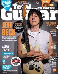 Total Guitar issue September 2016