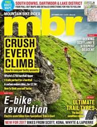 Mountain Bike Rider issue September 2016