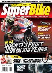 SuperBike South Africa issue September 2016