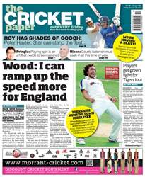 The Cricket Paper issue 26th August 2016