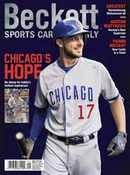 Sports Card Monthly issue September 2016