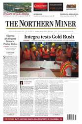 The Northern Miner issue Vol. 102 No. 29