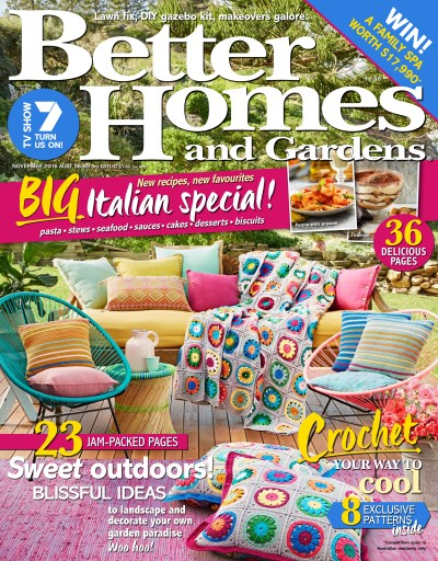 Better Homes and Gardens Australia Magazine November 2016