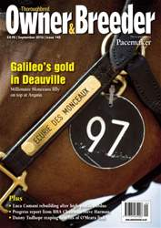 Thoroughbred Owner and Breeder issue September 2016 - Issue 145