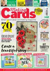 Making Cards issue October 2016